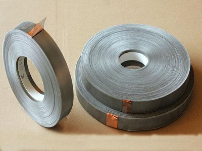 Stainless steel mesh electrode, current collectors for battery, fuel cell