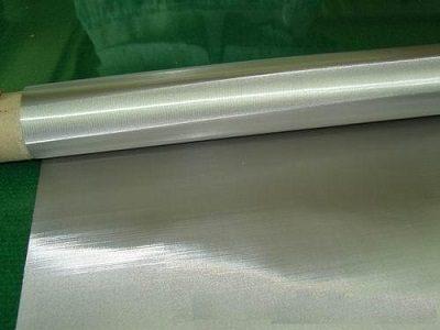Silver mesh wire mesh