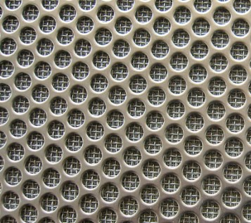 Sintered Wire Mesh With Perforated Metal for air and liquid filtration and separation