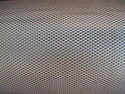 Titanium expanded metal