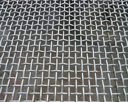 hastelloy crimped wire mesh