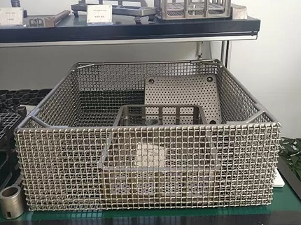 heat treating basket 4