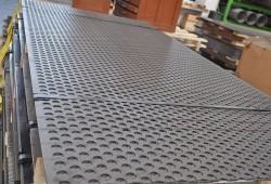 Copper-nickel alloy perforated sheet plate