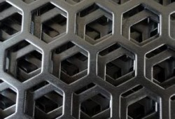 Diamond Hole Perforated Metal filter and screen