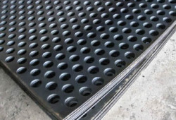 Round Hole Perforated Metal Sheet Producer for roofing and filtration for window security