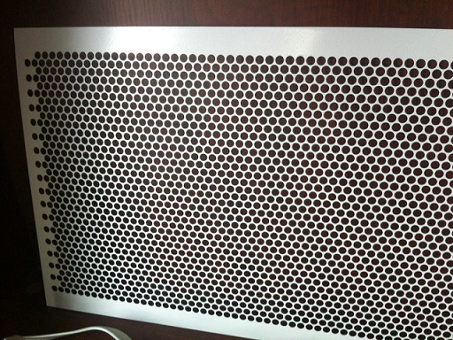 Stainless Steel Perforated Metal Sheet Plate Hsm