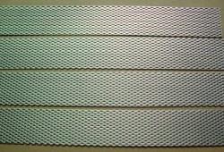 Titanium expanded metal sheet plate