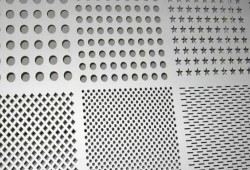 Titanium perforated metal sheet plate