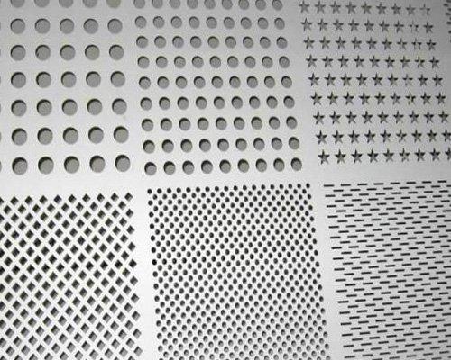 Titanium perforated metal sheet plate