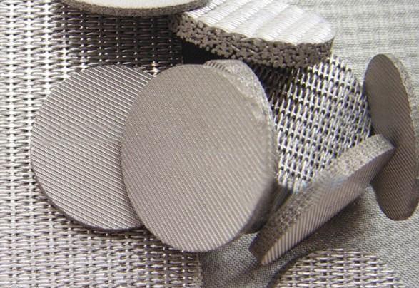 Nickel Sintered Mesh for heavy duty filter