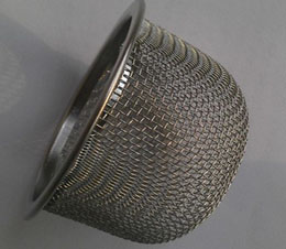 sock strainer for waste water and chemical treatment