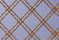 Decorative Mesh-double crimp Round Wire