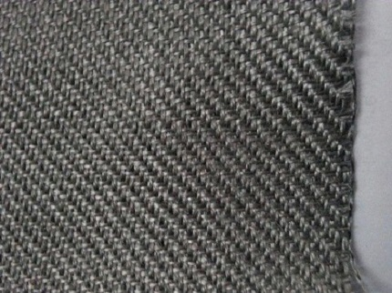 fiber fabric for IR burner