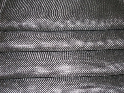 fiber fabric for infrared burners