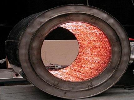 metal fiber fabric for burner