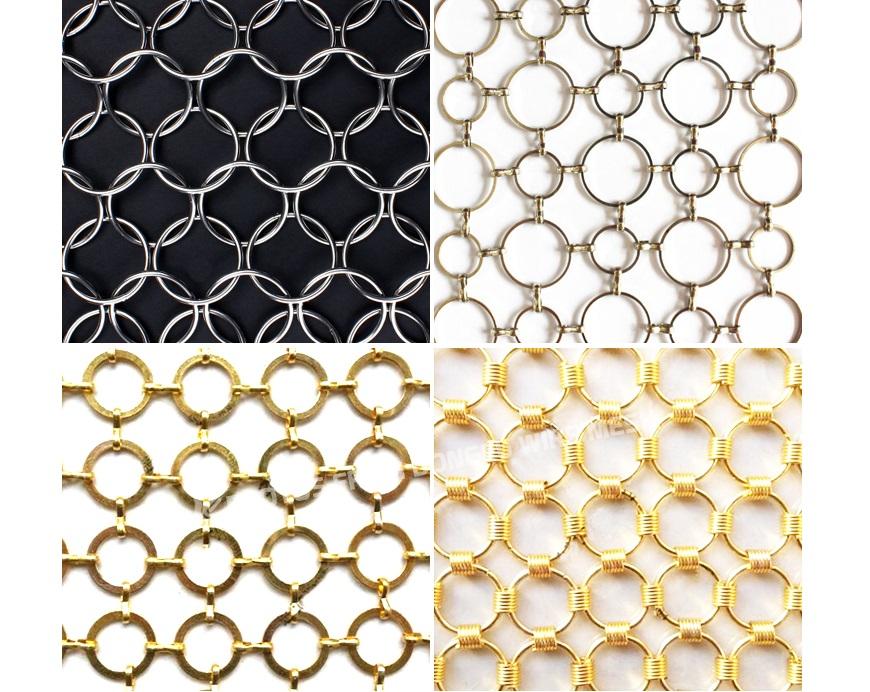 Decorative Ring Mesh Drapery, Ring Mesh Curtain 3