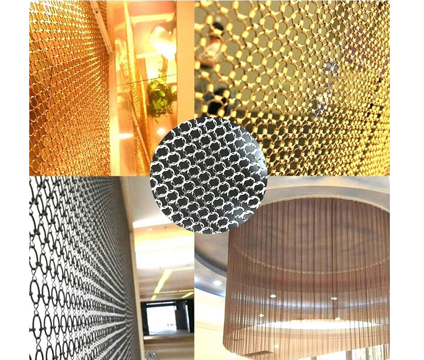 Decorative Ring Mesh Drapery, Ring Mesh Curtain 7