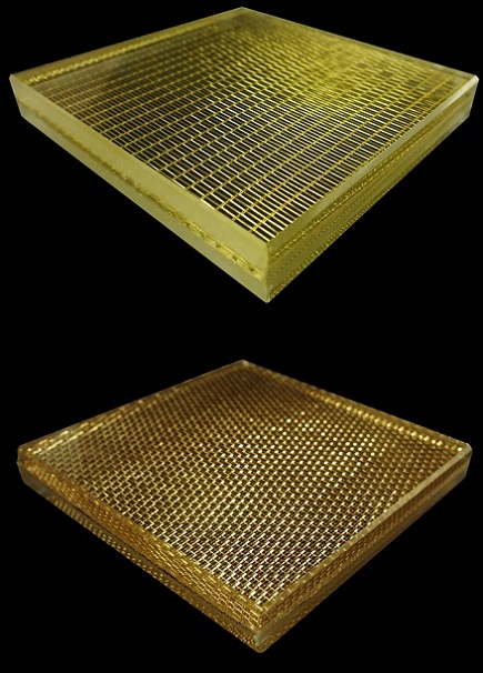 Mesh Laminated Glass, Inner-layer Metal Mesh
