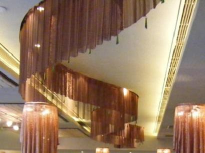 coil-drapery-light-partition-architectural decoration