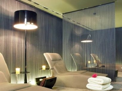 coil-drapery-space-divider-architectural decoration