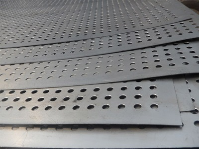 copper nickel perforated sheet